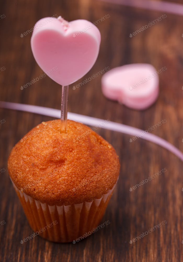 Mini muffin holiday Valentine's day