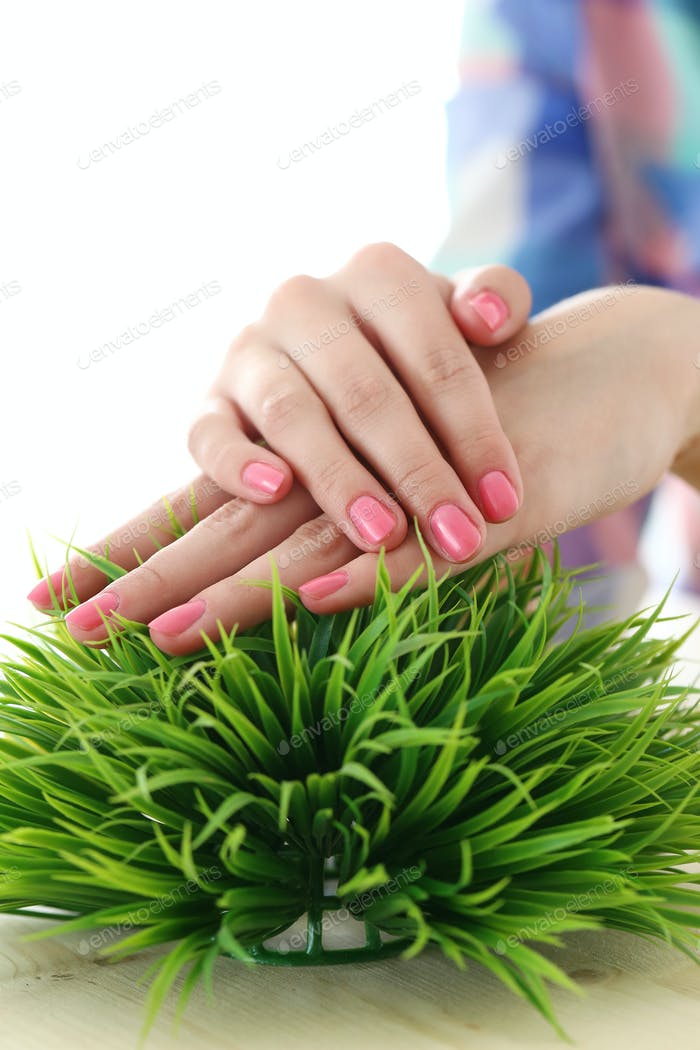 Beautiful, soft hands