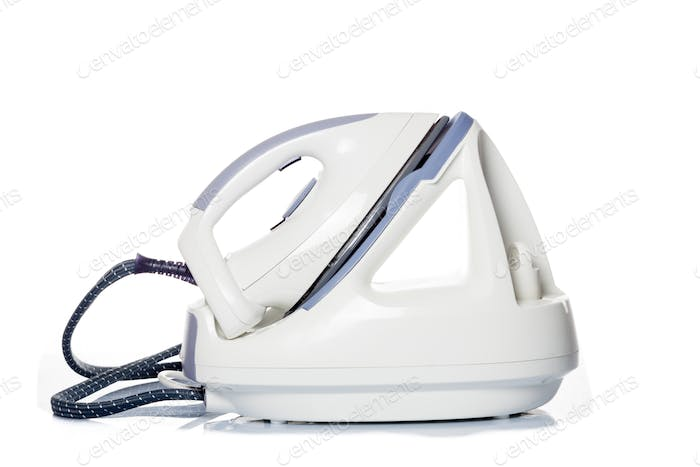 Iron isolated on a white background. Electric iron