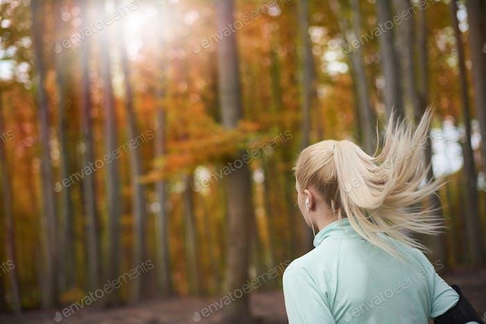 Dreamy weather for jogging alfresco