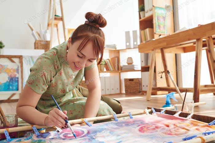 Pintura sobre textil