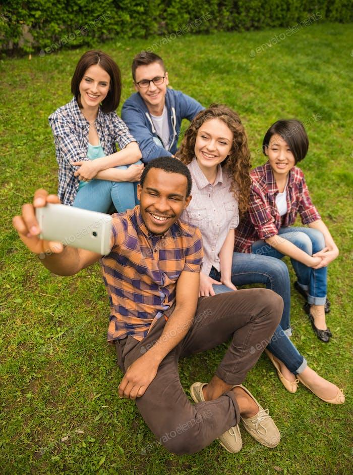 Estudiantes de exterior