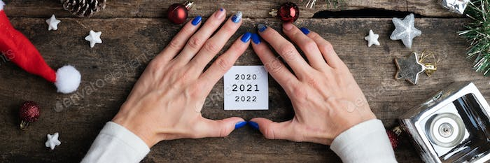 New year conceptual image