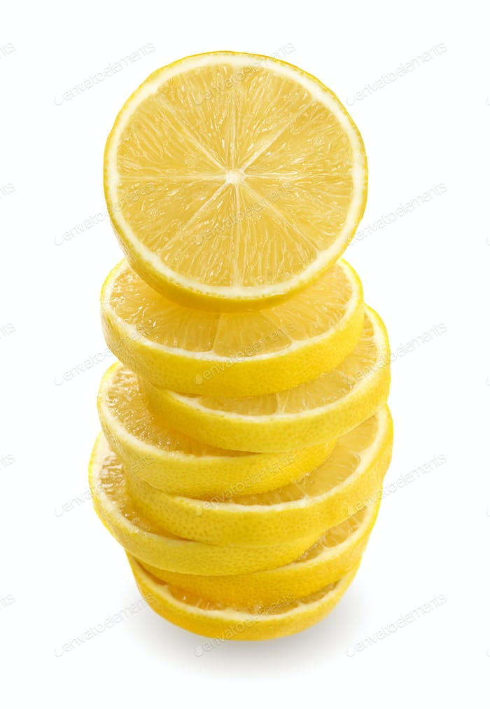 Zitronen-Stapel