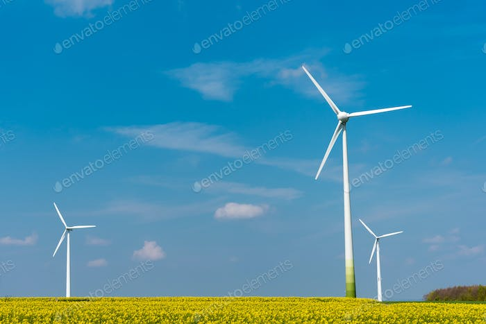 Wind energy in rural Germany