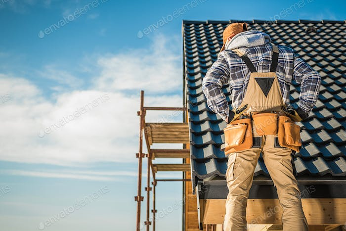 Roofing Construction Job