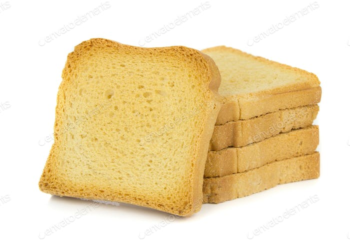 A Stack of Crispbread