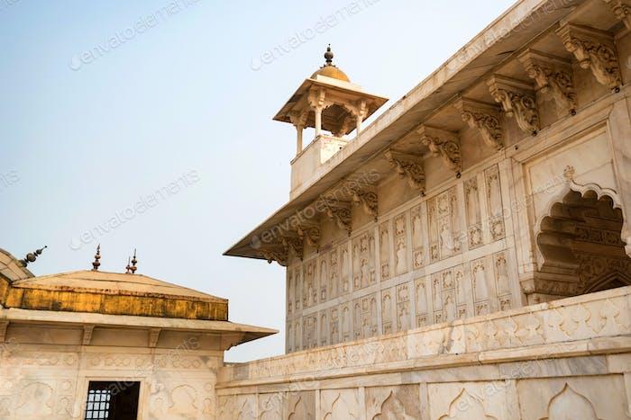 Pabellón de Oro en Fuerte de Agra