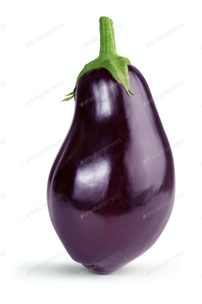 ripe eggplant