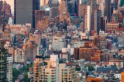 Cityscape of Manhattan