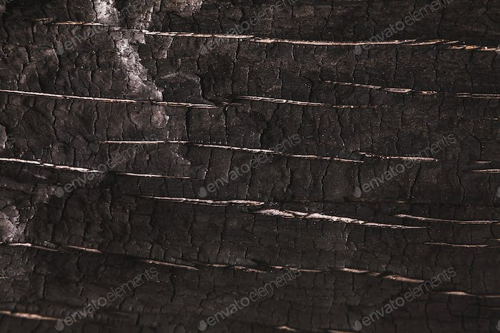 Dark gray or black wood texture closeup background