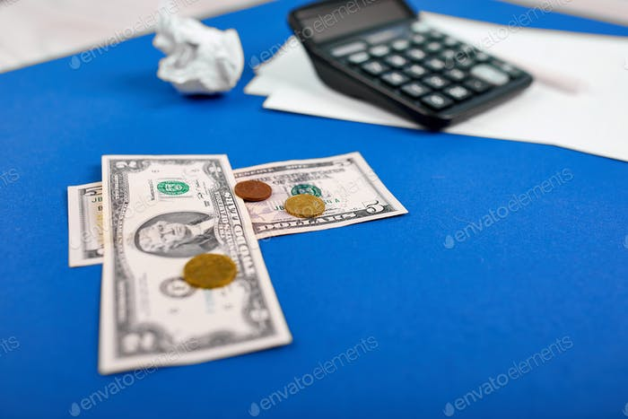 Concept of planning of the budget, business, finance planning