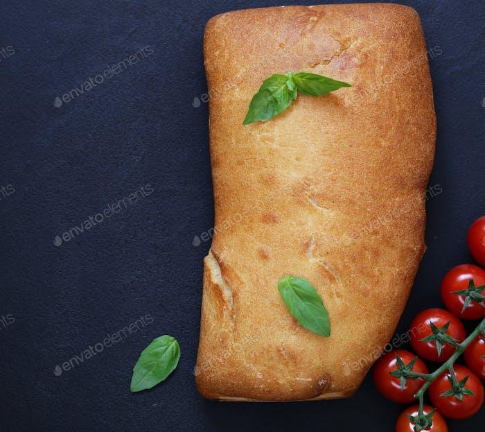 Italienisches Ciabatta Brot