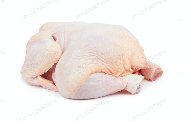 Raw fresh chicken