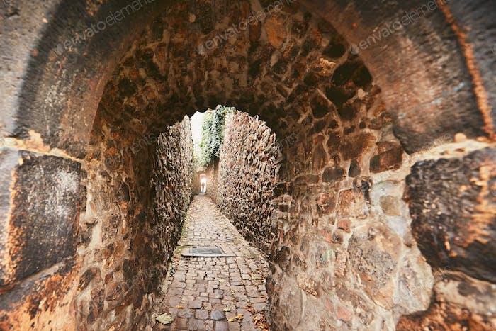 Alte enge Straße