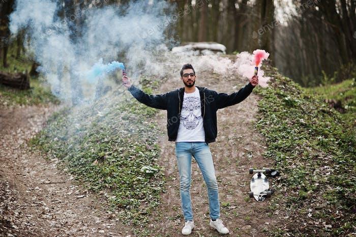 Bomba de granada de humo.