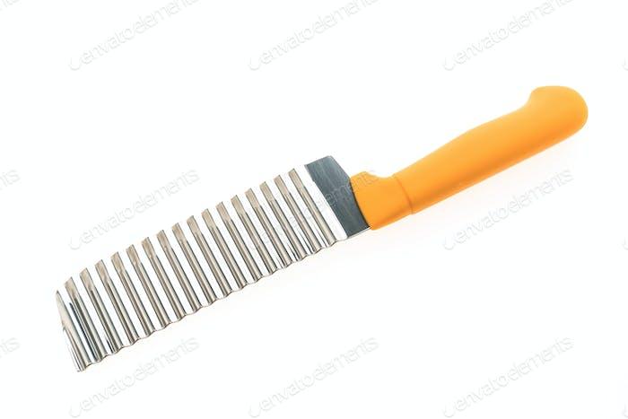 Knife isolated on white background