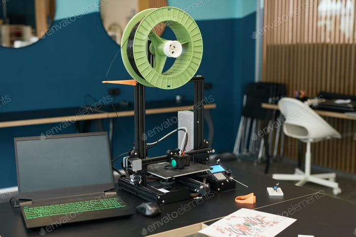 Configuración de la impresora 3D