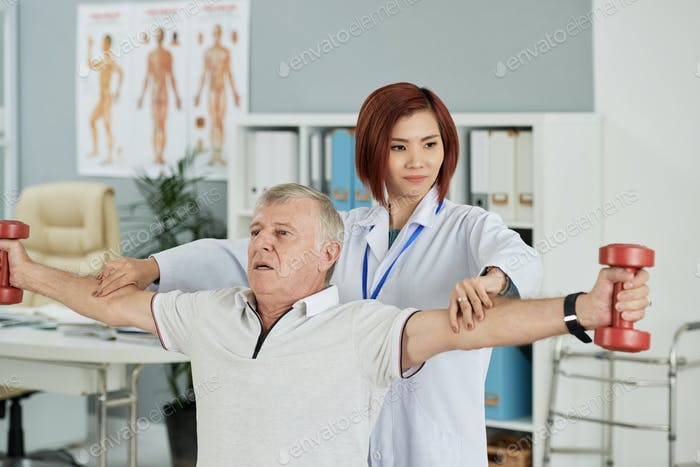 Exercising for rehabilitation