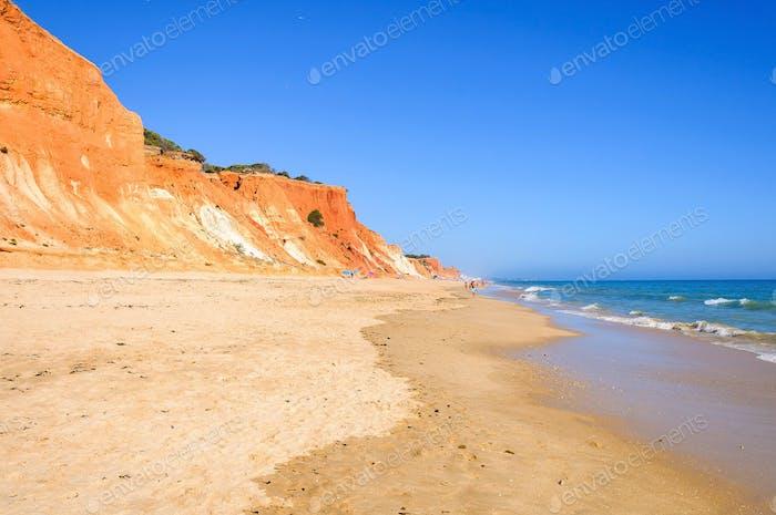 Vista de la Playa de Falesia