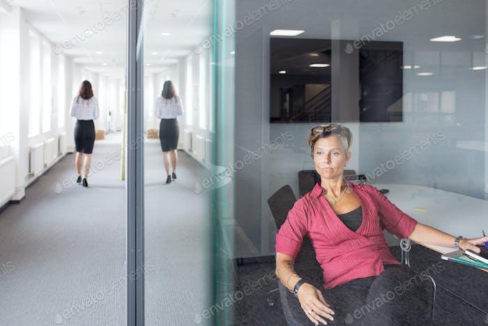 Arquitectos en la oficina