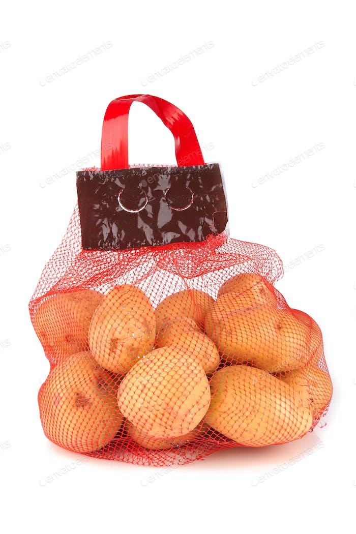 bag with potato