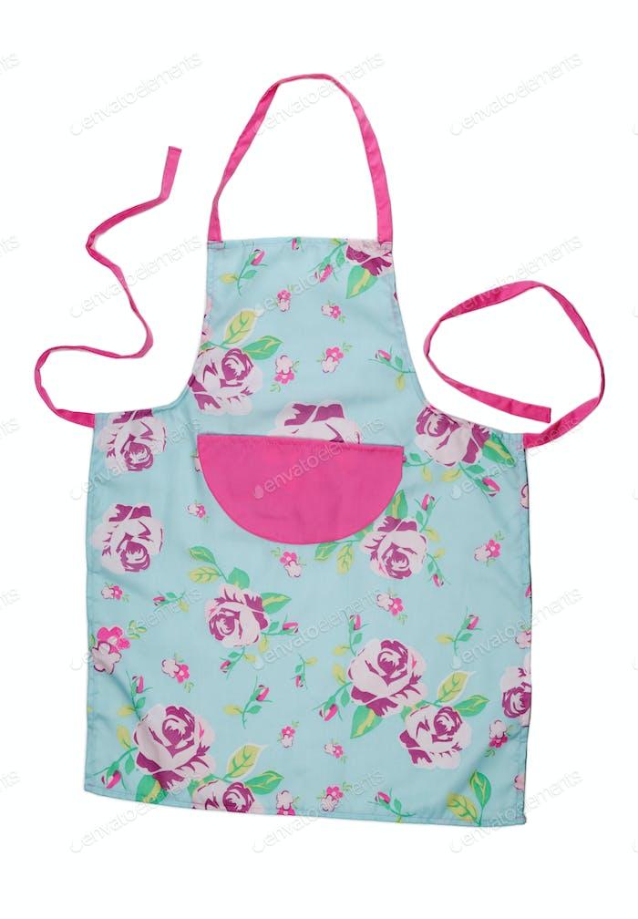 Female kitchen apron