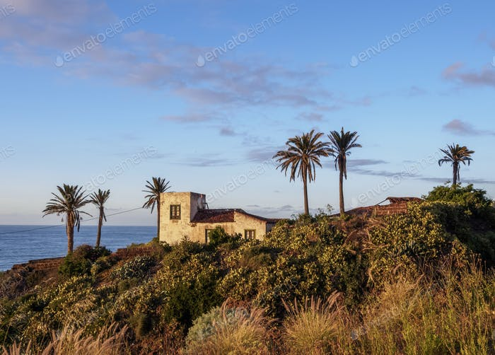 Landscape of Tenerife Island, Canary Islands