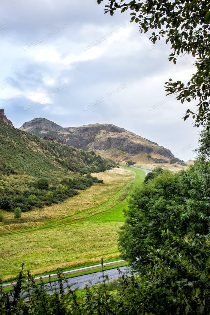 beautiful Scottish mountains