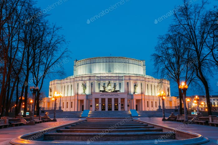 Nationale Akademische Bolschoi Oper und Ballett Theater der Republ