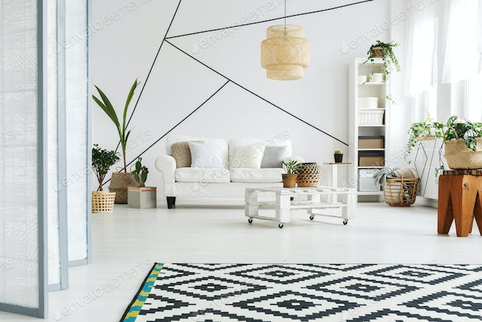 Open space in lounge