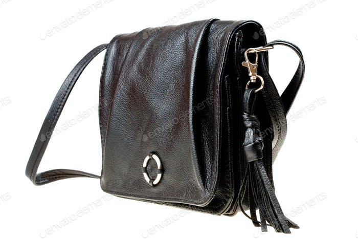 small black bag