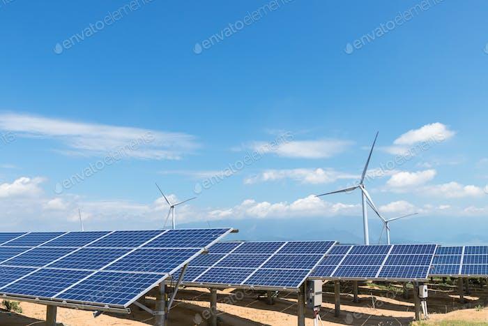 erneuerbare Energielandschaft