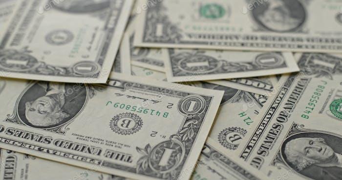 USD dollar banknote