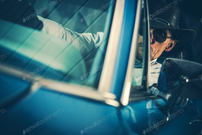 Cowboy Behind the Wheel