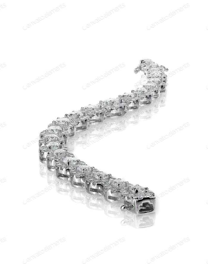 Bracelet diamond tennis bracelet