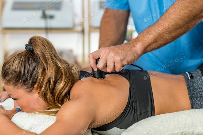 Using ultrasound in physical therapy
