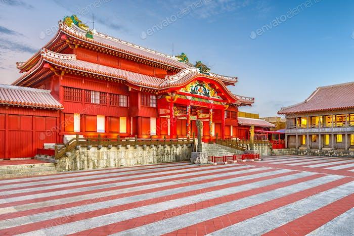 Burg Shuri, Okinawa, Japan