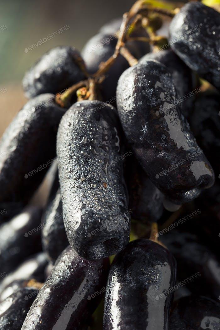 Raw Organic Long Purple Grapes