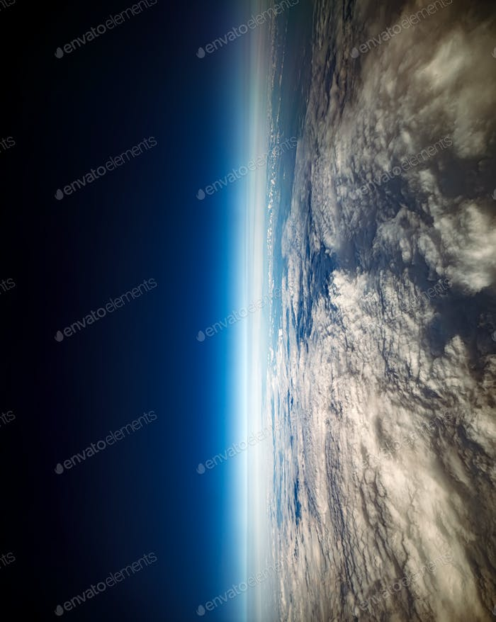 Foto Planet Erde Luftaufnahme