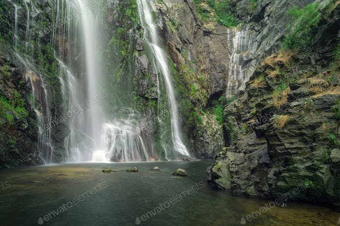 Bottom of the Toxa waterfall