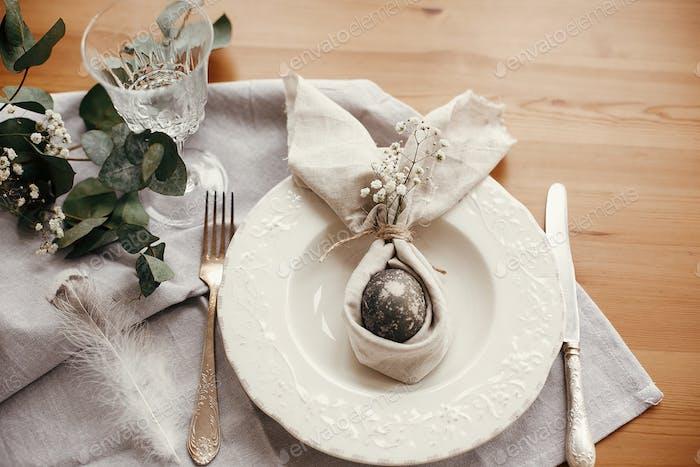 Ostern Tischdekorationen