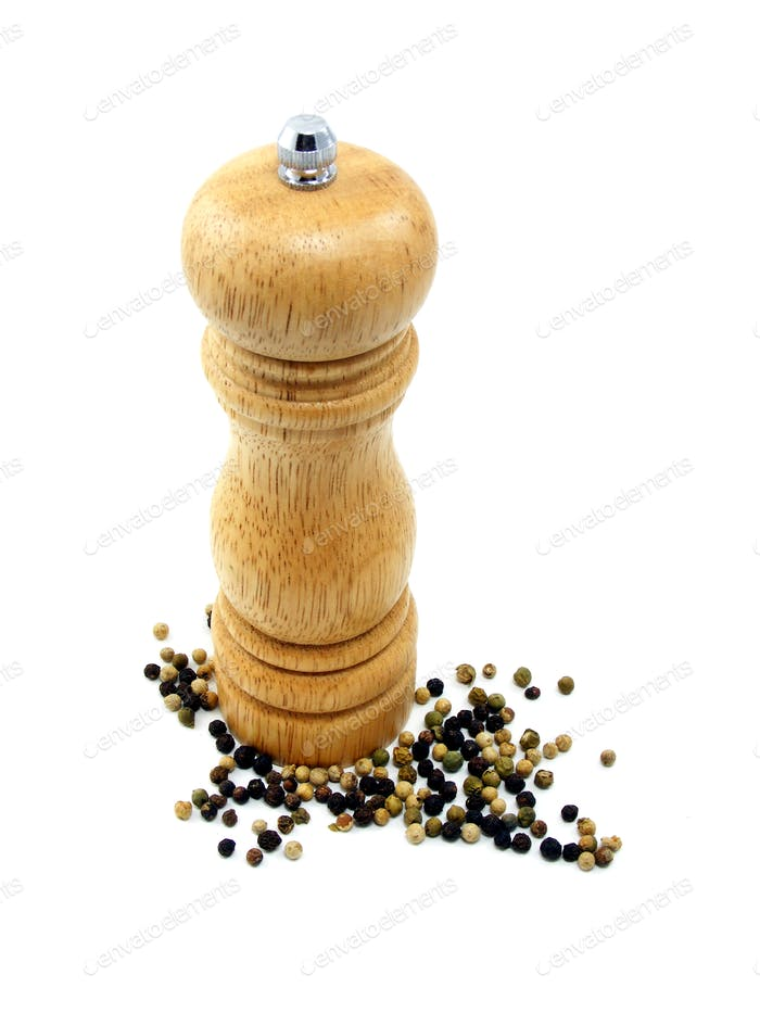Peppermill and Peppercorns