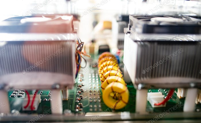 Complex system of equipment and microcircuits