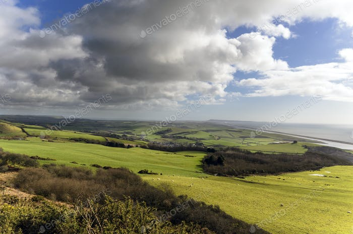 Clouds Gathering Over Abbotsbury