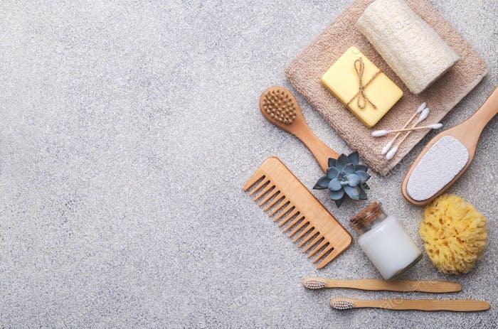 Zero waste reusable bathroom items