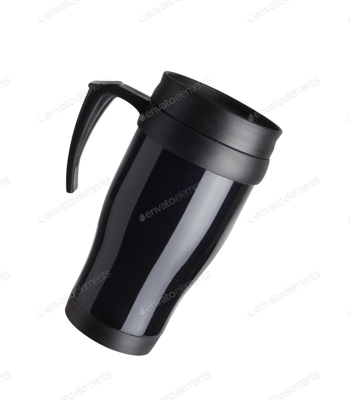 Heat protection-thermos coffee cup
