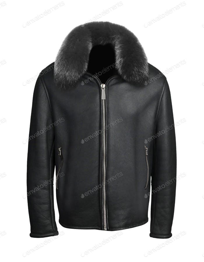 men jacket isolated