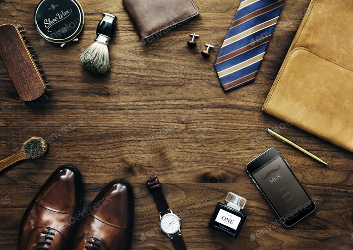 Men collection of daily use