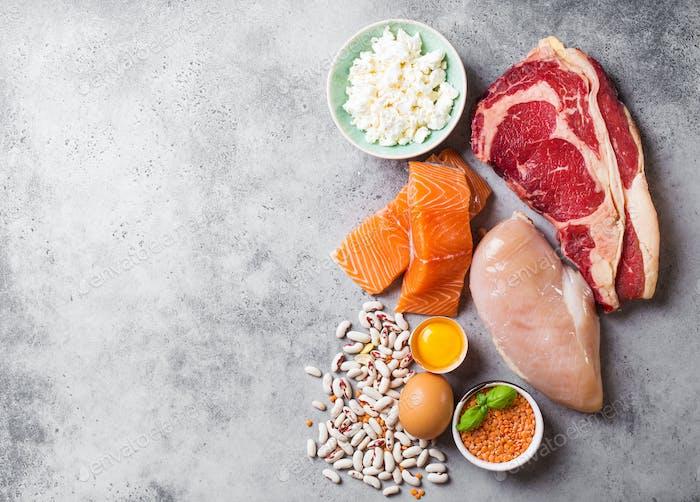 Natürliche Proteinquellen
